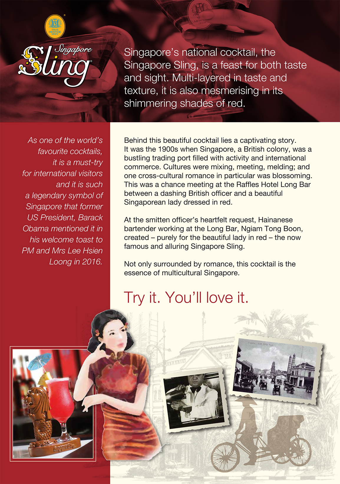 Know Your Singapore Sling Poster